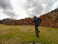 The Incas ruins in Chinchero