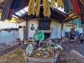 Lesson of textiles in Chinchero
