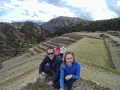 The Incas terraces in Chinchero
