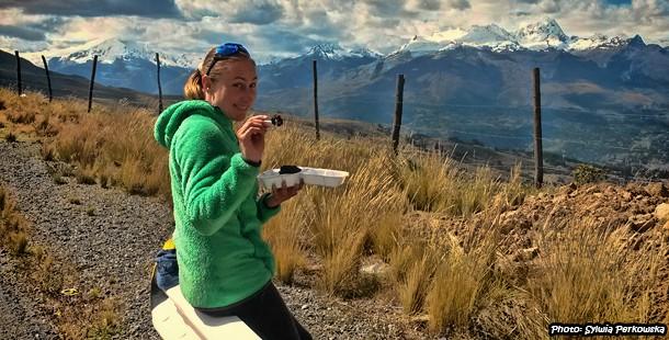 Cheap biking tour near Huaraz