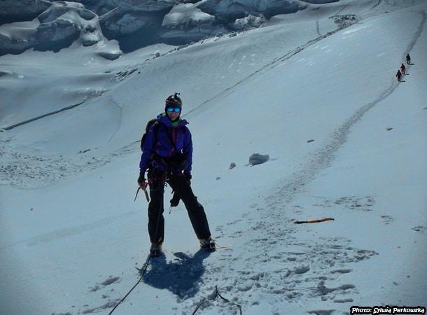 Yanapaqcha mountain in Cordillera Blanca