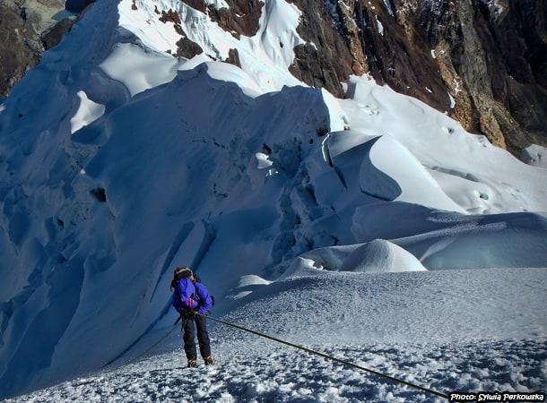 Yanapaccha mountain in Cordillera Blanca