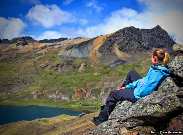 trekking around ausangate mountain