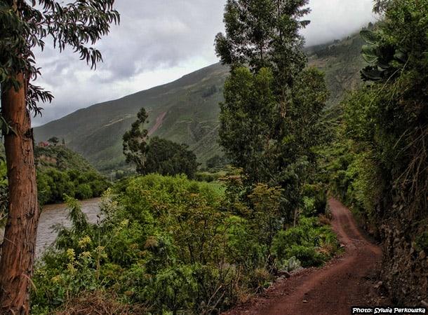 Bike adventure near cusco