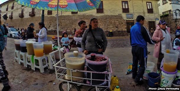 About chicha de jora popular corn beer in Peru
