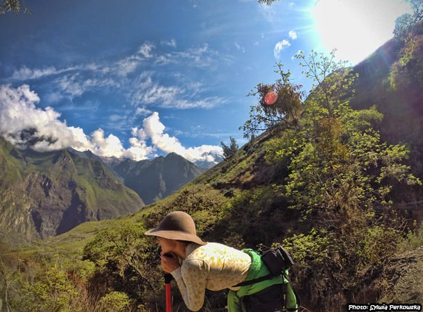 Last day of trekking Choquequirao