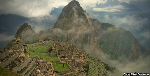 Ruins of Machu Picchu in Peru, Cusco