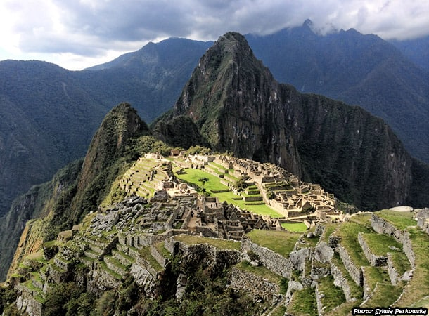Ruins of Machupicchu near Cusco