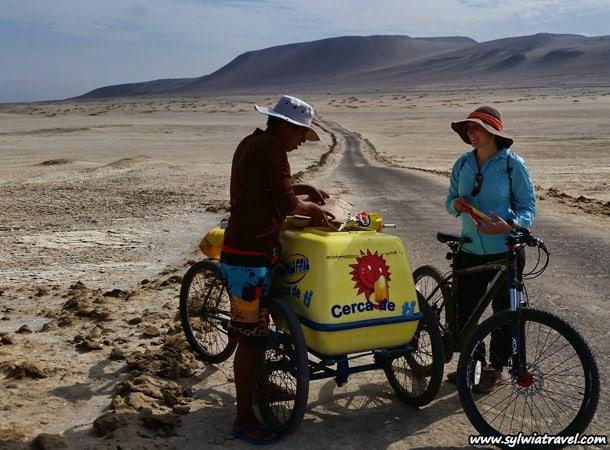 Reserva Nacional De Paracas - Biking trip