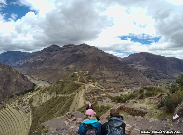 Travel to Peru. Pisac Inca Ruins