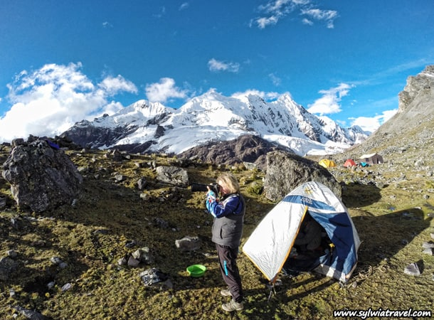 Trekking in Peru. Ausangate trek