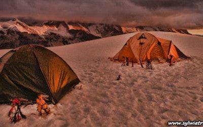 Tocllaraju summit in Peru