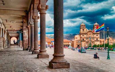 Miasto Cusco w Peru