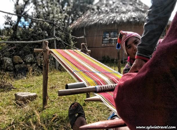 Rękodzieło w Peru