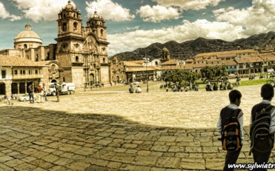 Main squear in Cusco, Peru