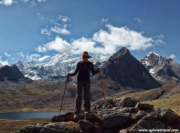 Trekking w okolicach Ausangate, Peru