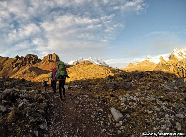 Cordillera-Vilcanota,-trekking-Peru
