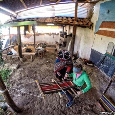 Lekcja rzemiosla w regionie Cusco