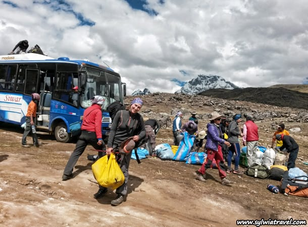 Trekking w Peru, okolice Ausangate