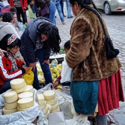 Cheese from Peru