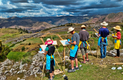 Active travelling in Peru