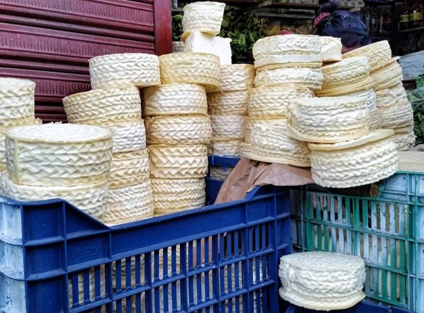 Cheese in Peru Cusco
