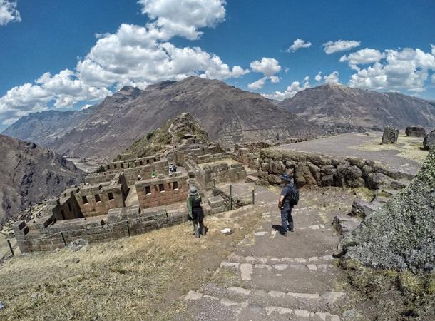 Ruiny Pisac w Peru