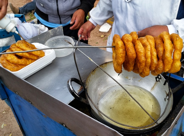 Picarones from Peru