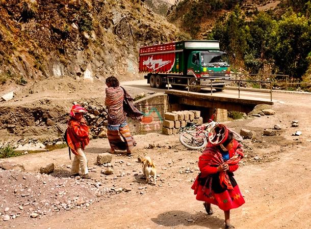 Dolina Patacancha w Peru