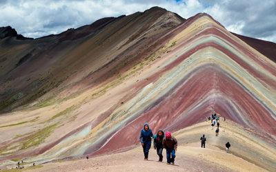Góra Siedmiu Kolorów w Cusco w Peru