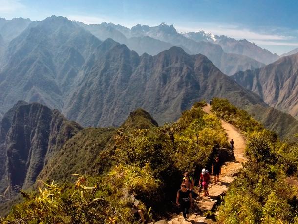 Szlak na szczyt Machu Picchu Peru