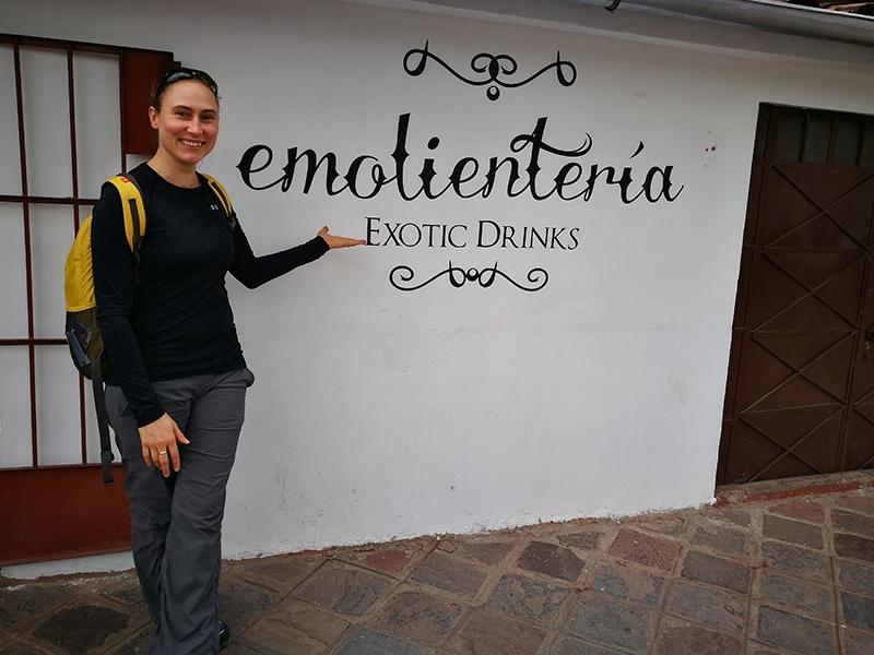 Herbata ziolowa Peru