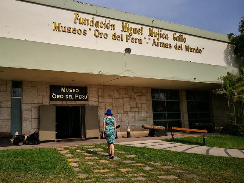 Uważaj! Muzeum złota w Limie nie dla każdego!