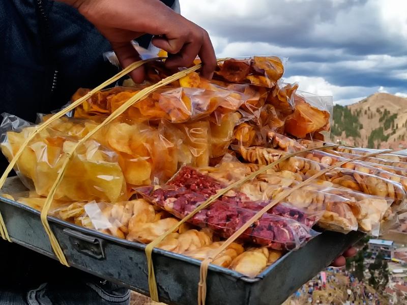 Peruwiańskie snaki, czyli canchitas i habas