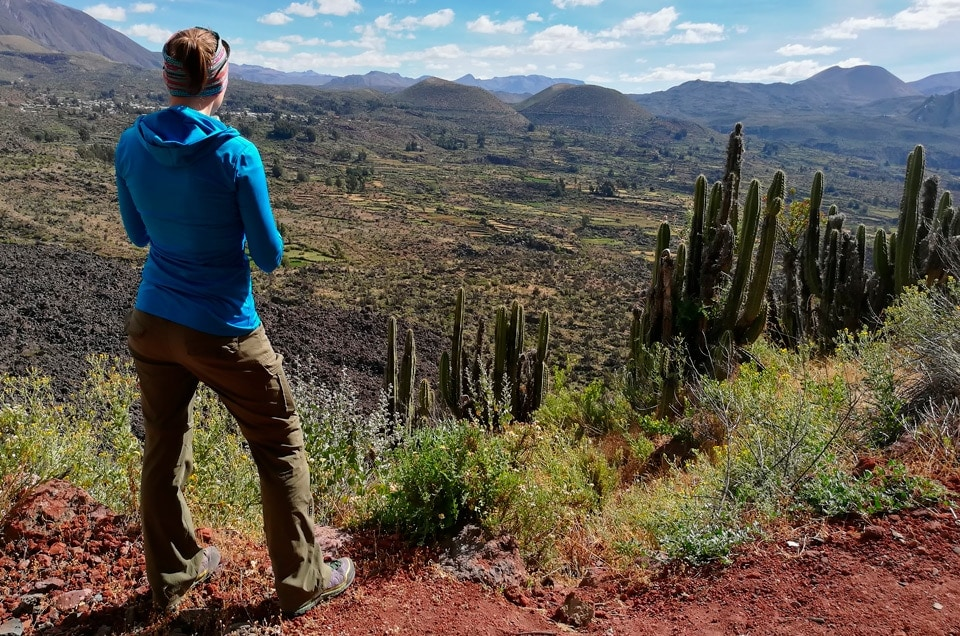 Trekking in the volcanoes in Peru: Andagua valley as an alternative tour in Arequipa!