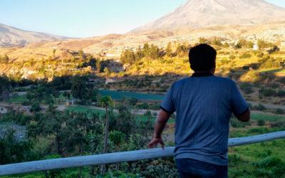 Wulkany w Arequipa Peru