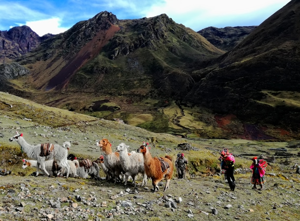 Lares Patacancha trek w Peru