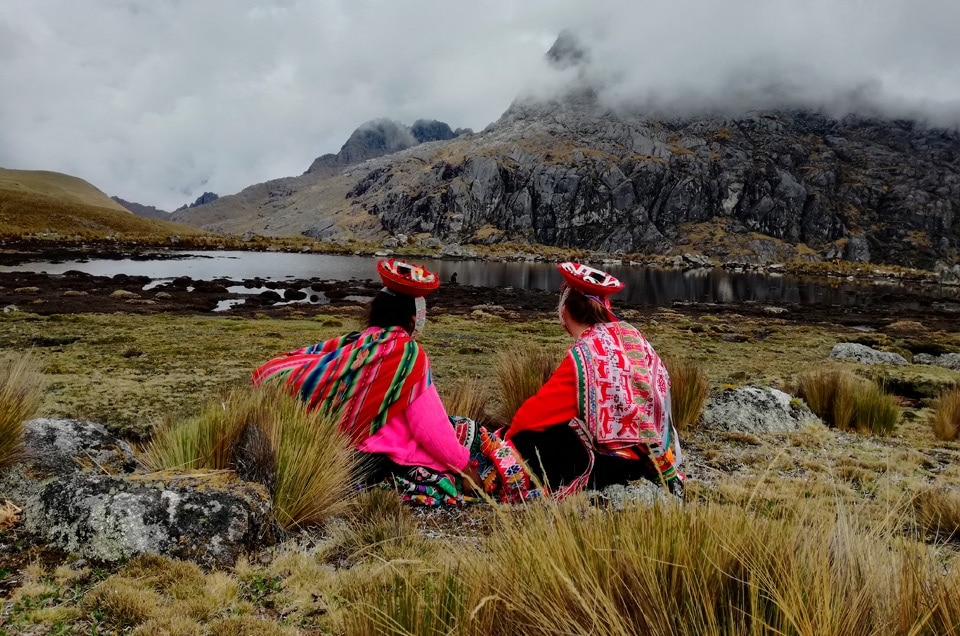 Andy w Peru Lares trek