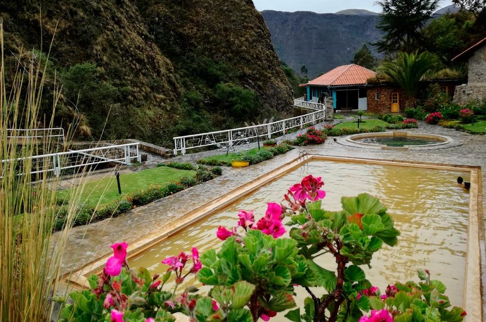 Gorące źródƗa Peru
