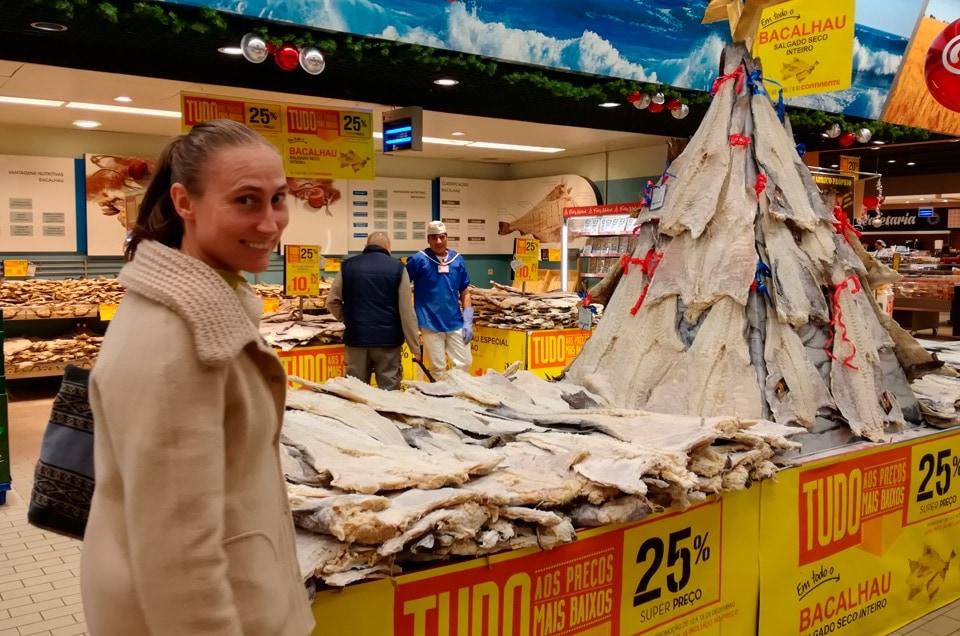 Lizbona supermarket