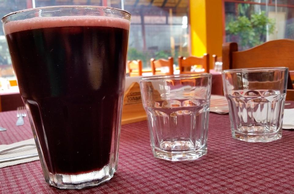 Chicha morada czyli napoje w Peru
