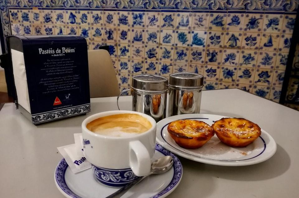 Lizbona pasteis de Belem