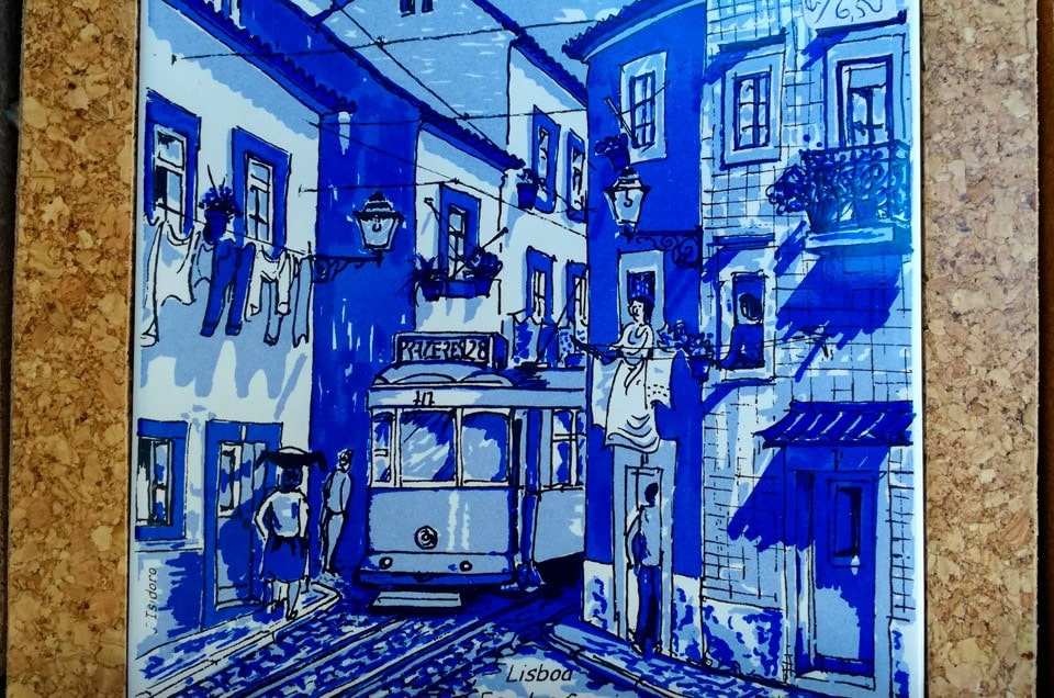 Lizbona tramwajem