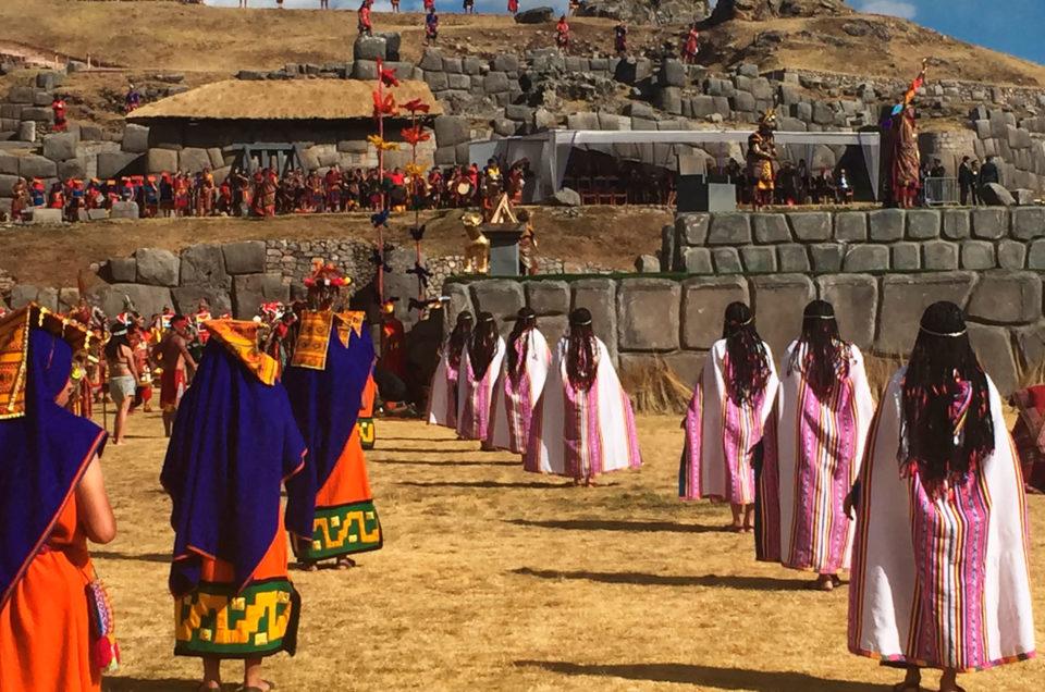 Inti Raymi w Peru