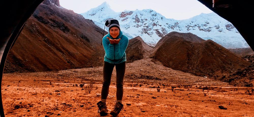 Mountaineering adventure