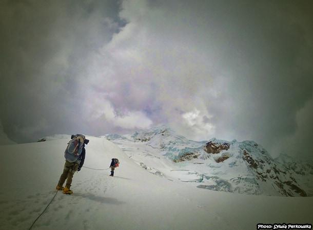 Tocllaraju climbing Huaraz Peru