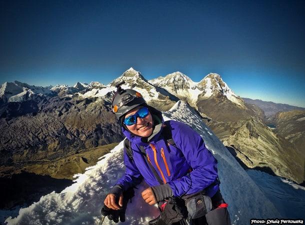cordillera blanca yanapaccha summit