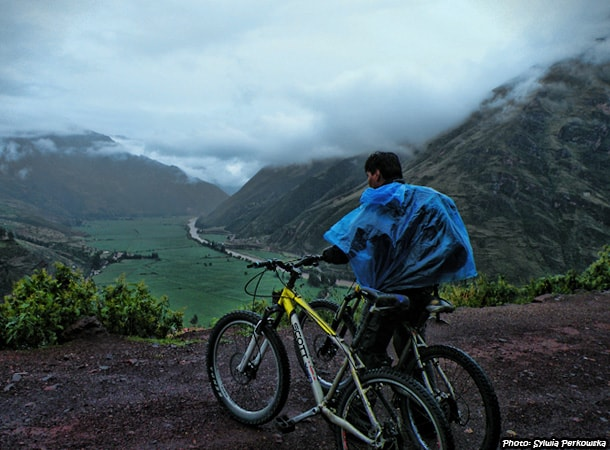 Bicycle tour in Peru