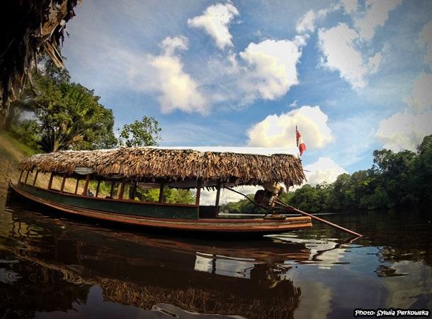 Pacaya Samiria Iquitos Tour boat trip