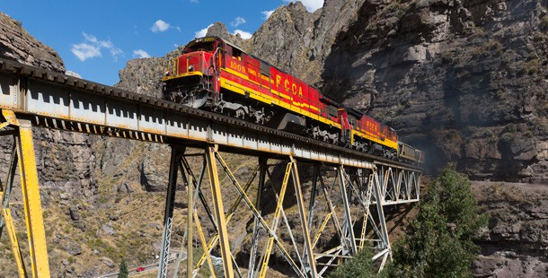 Successes of polish people in Peru Trans-Andean Railway